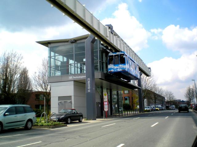 H-Bahn Dortmund Haltepunkt Technologiezentrum