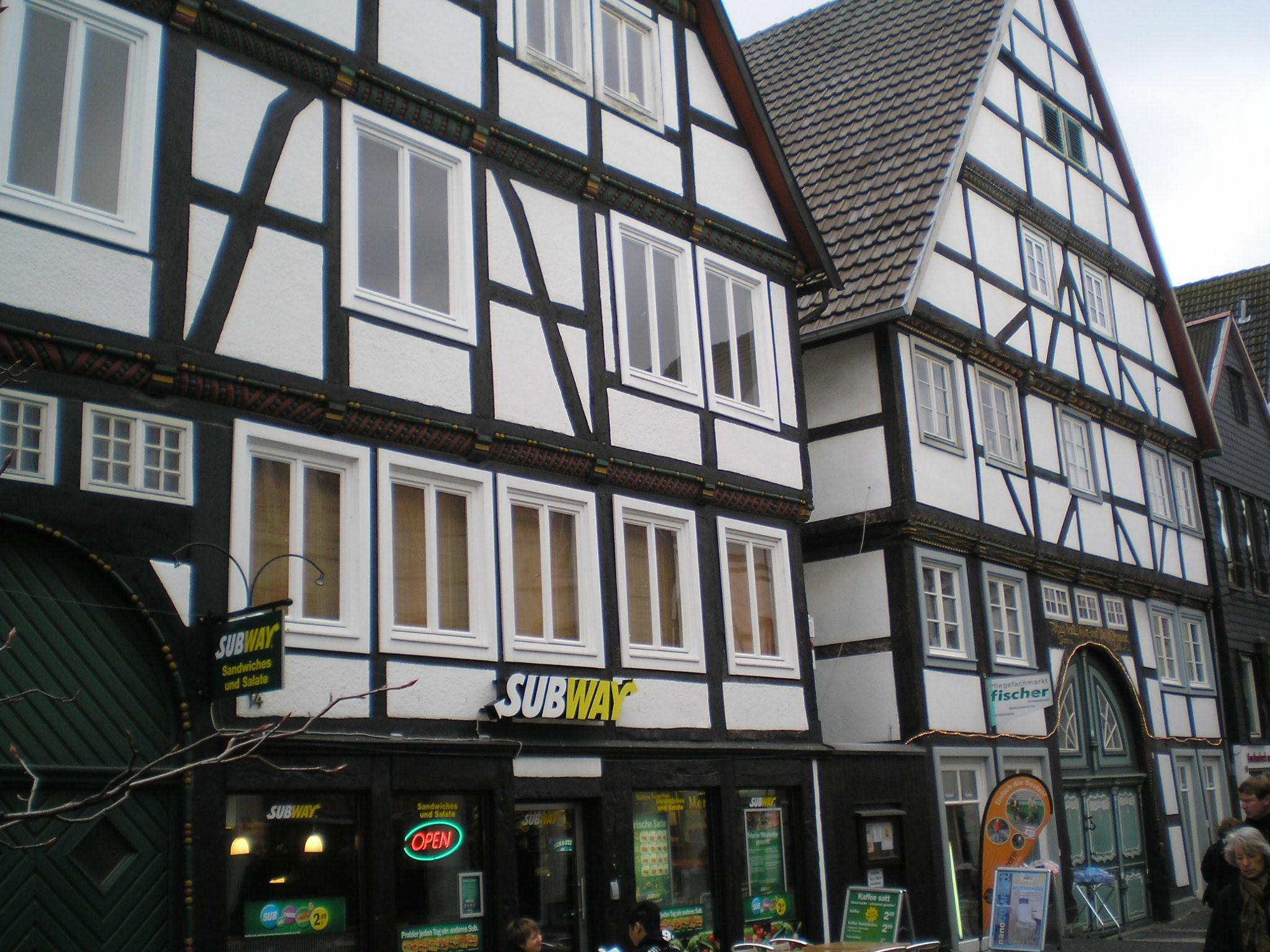 Lippstadt Fachwerkgebäude