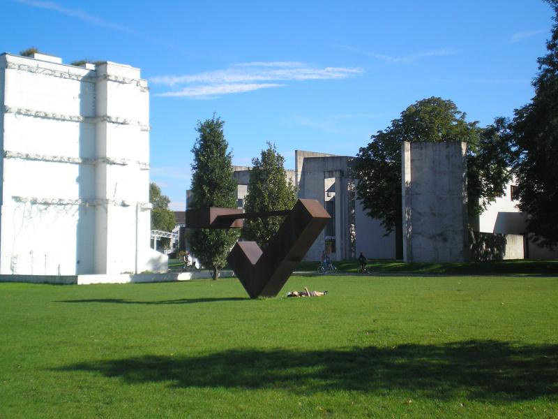 Garten der Erinnerungen - Innenhafen Duisburg