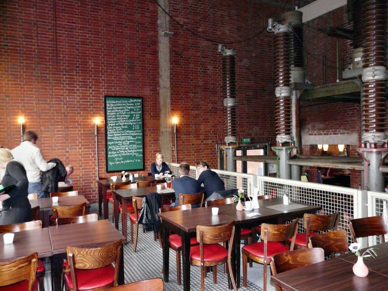 Restaurant Hauptschalthaus im Landschaftspark Duisburg-Nord