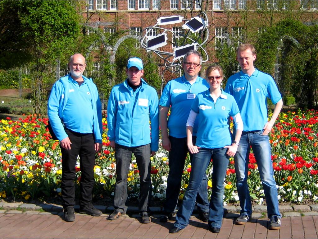 Eine ganz tolle Truppe! Das VolunteerTeam der Eröffnungsveranstaltung zur LocalHero-Woche in Hamm.