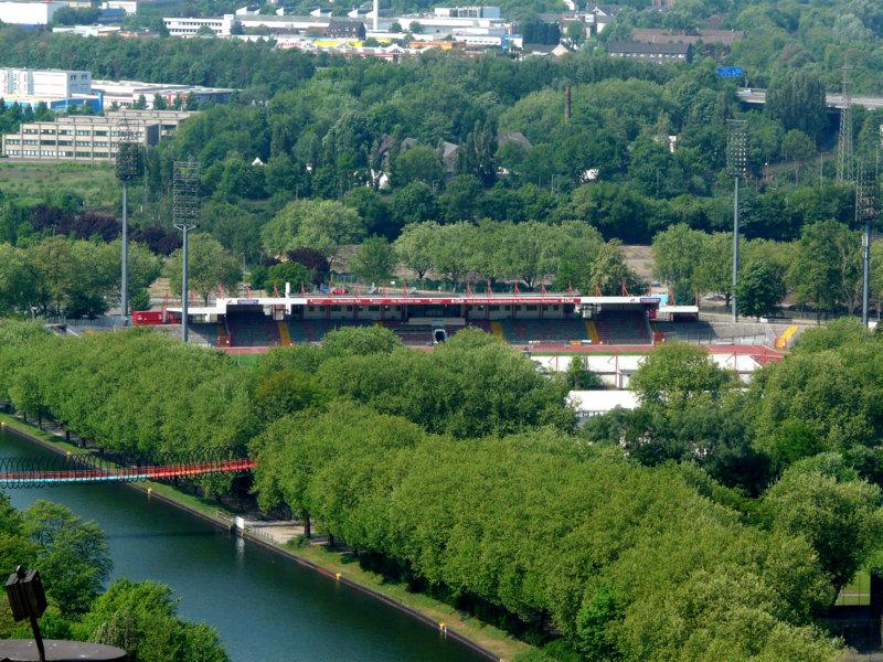 Oberhausen Stadion Niederhein